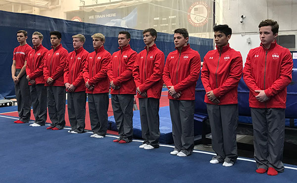 Men's Junior Elite National Team attends camp at USOTC