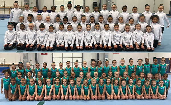 More than 100 gymnasts attend 2018 TOPs camps