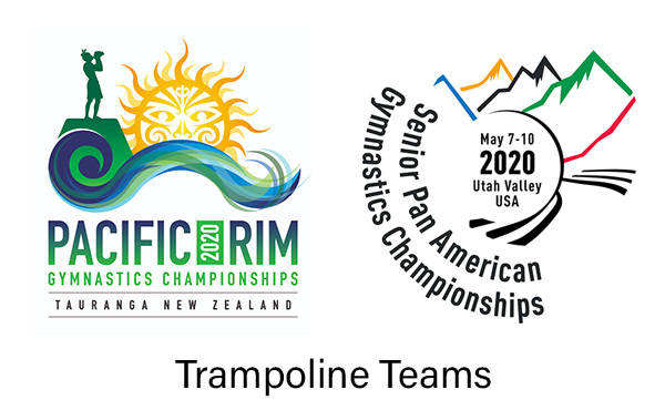 USA Gymnastics names U.S. trampoline teams for 2020 Pacific Rim Championships and Pan American Championships